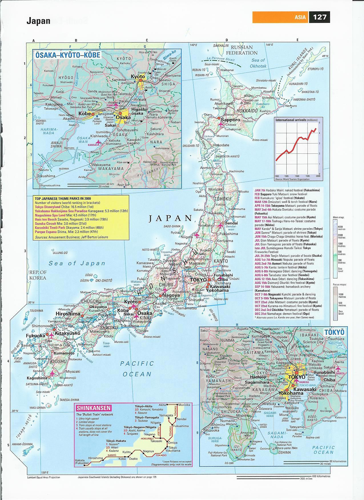 Japan Maps