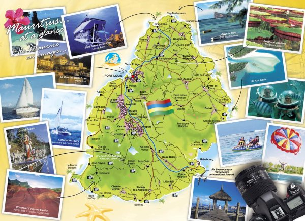 Mauritius Maps Printable Maps of Mauritius for Download