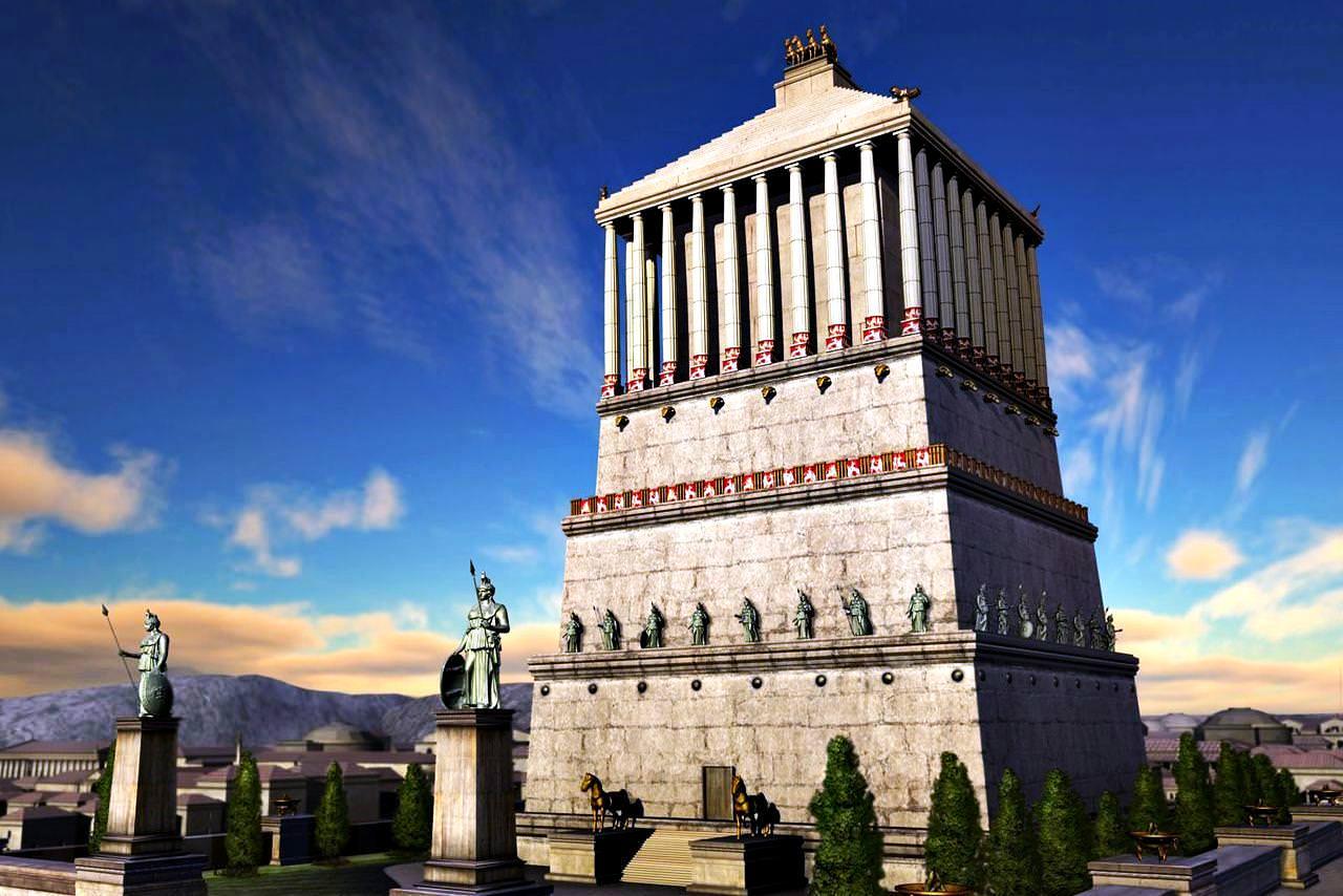 ผลการค้นหารูปภาพสำหรับ Mausoleum in Halicarnassus