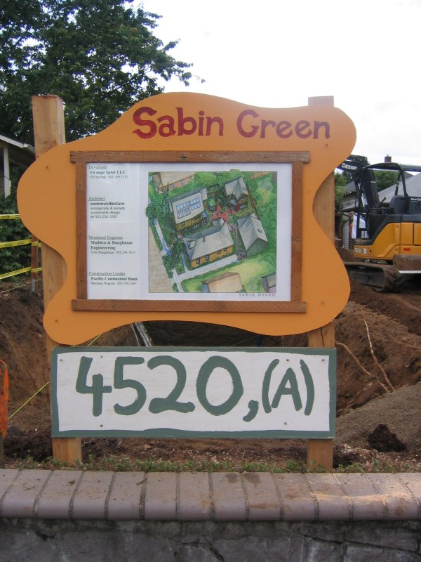 Sabin Green Orange Splot Llc