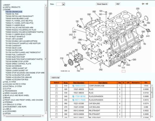 kubota d902 engine parts diagram