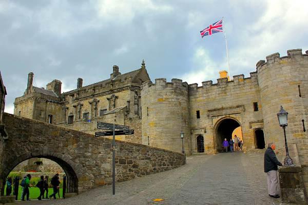 Ingresso del castello di Stirling  Orange Viaggi