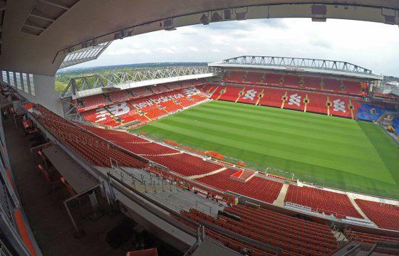 Liverpool Anfield Stadium  Orange Viaggi