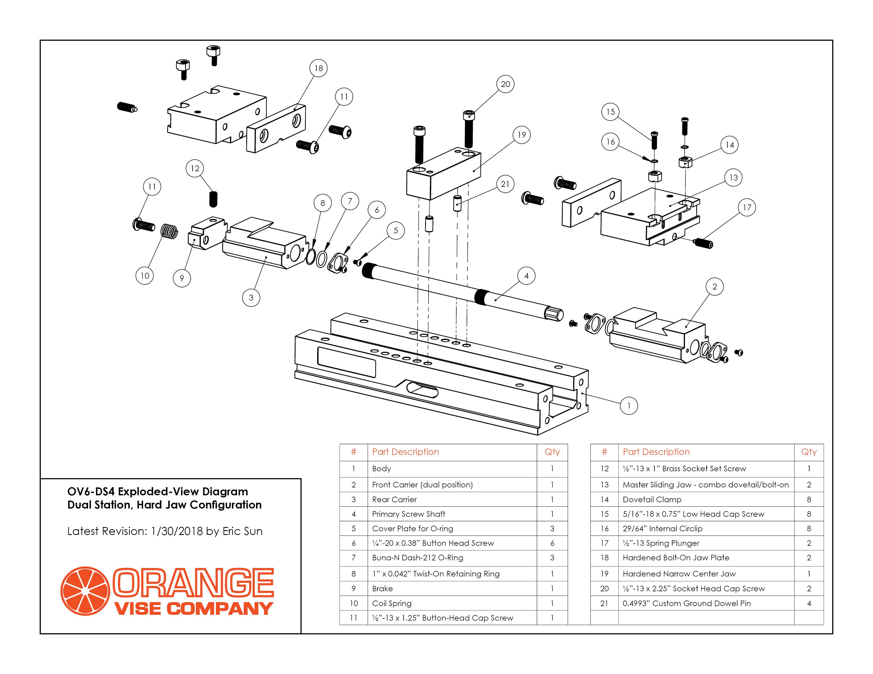 parts of an orange fruit diagram john deere sabre 1438 wiring list hardware and torque values vise