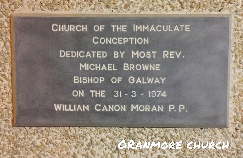 Consecration Stone Oranmore