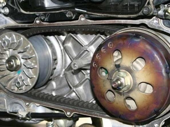 Mesin Motor Vespa Metic