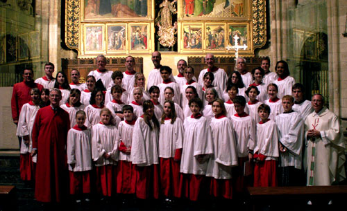 Cantores in Ecclesia performs at the William Byrd Festival