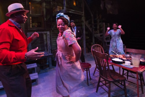"""Seven Guitars,"" Artists Rep: A city full of August Wilson. Photo: Owen Carey"