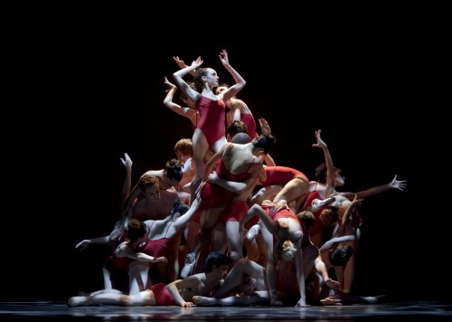 "Oregon Ballet Theatre performs Christopher Stowell's ""The Rite of Spring""/Blaine Truitt Covert"