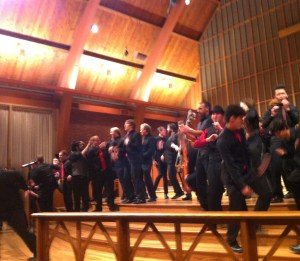 Monkeying around: PSU Chamber Choir's energetic winter concert.
