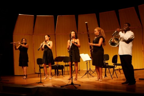 Imani Winds return to this summer's Chamber Music Northwest festival. Photo: Adriana Elias/divulgação.