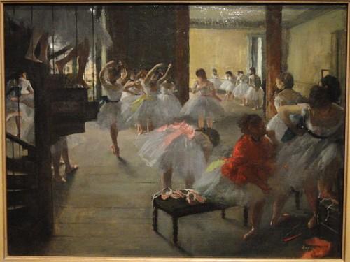 Edgar Degas, The Dance Class, 1873/Wikimedia