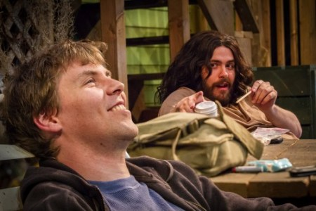 "Chris Murray and Isaac Lamb in ""The Aliens""/Third Rail Repertory Theatre"