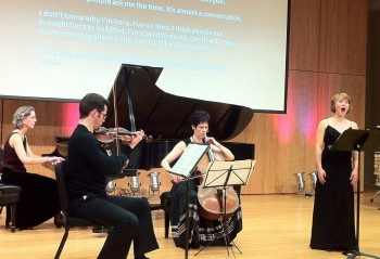 Northwest New Music performs Rzewski and Bartok Tuesday.