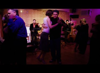 Milonga night at Tango Berretin.
