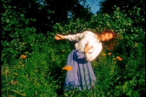 Sybil Shearer lets the wind take her where it will.