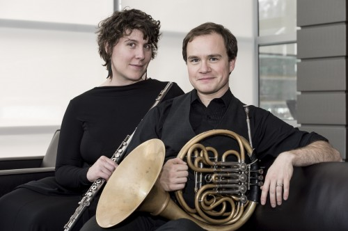 Elise Blatchford and Leander Star perform Thursday at Portland's Headwaters.