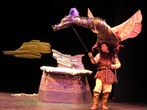 Tears of Joy will reprise The Reluctant Dragon for 2013-14 in their new home: Imago Theatre.