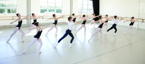 The Portland Ballet studio in action. Photo: Blaine Truitt Covert