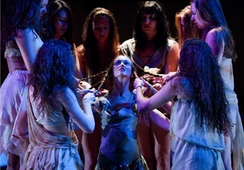 Lauren Michelle Redmond as The Chosen One and the  AL Dancers/Chris Leck