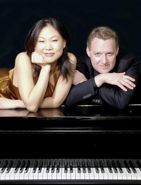 Stephanie & Saar play Stravinsky Friday.