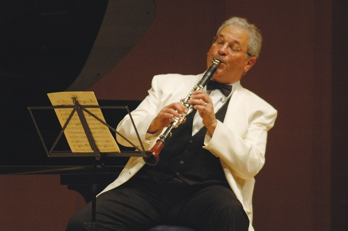 Chamber Music Northwest artistic director David Shifrin.
