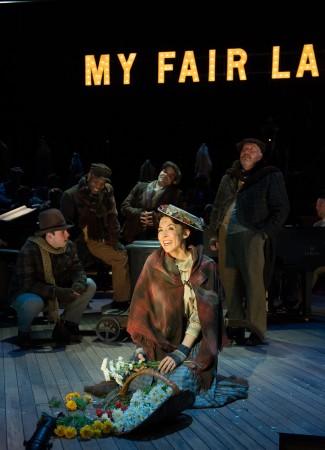 """Rachael Warren as Eliza Doolittle in OSF's """"My Fair Lady""""/Jenny Graham"""