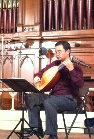 Lutenist Hideki Yamaya leads Musica Maestrale Saturday night.