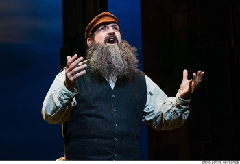 David Studwell as Tevye. Photo: Patrick Weishampel