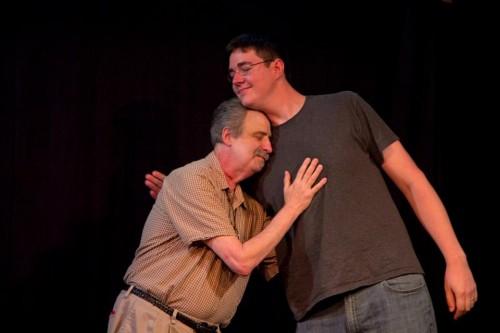 Lawrence Howard (left) and Matt Haynes. Photo: Mike Bodine