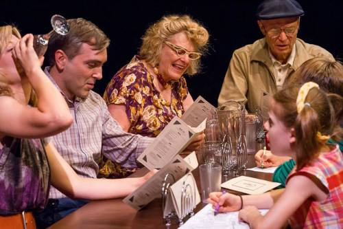 Clockwise from left: Landrum, Lowell, O'Brien, Nause, Lea, Olson. Photo: Owen Carey