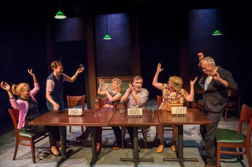 From left: Harris, Lee-Hillstrom, Landrum, Lowell, O'Brien, Nause. Photo: Owen Carey
