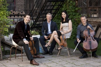 The Pacifica Quartet performs Monday and Tuesday at PSU.