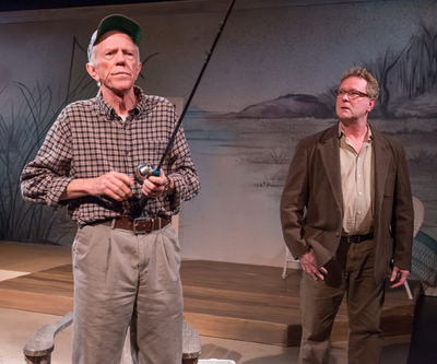 "Tobias Andersen and Gary Norman in CoHo's ""The Outgoing Tide""/Brud Giles"