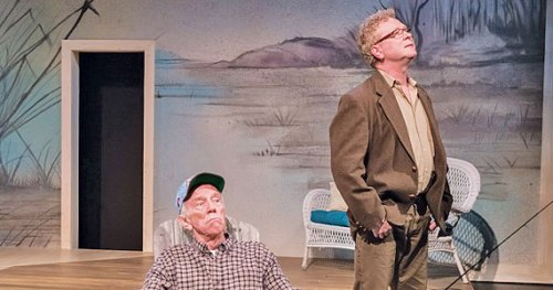 """Tobias Andersen and Gary Norman in """"The Outgoing Tide""""/Brud Giles"""