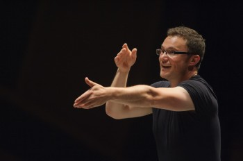 Matthew Halls leads several Oregon Bach Festival concerts.