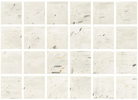 "Cy Twombly's ""Poems to the Sea"" sold by DIA."