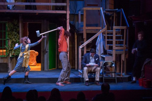 "Third Rail Repertory Theatre's ""Noises Off""/Owen Carey"