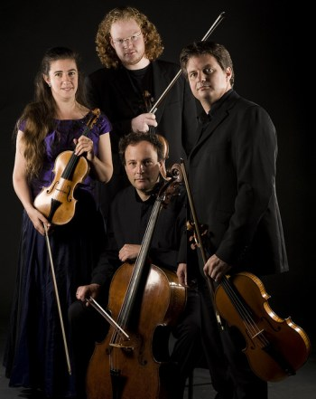 The London Haydn Quartet performs Sunday at the University of Oregon.