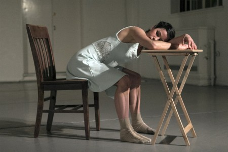 "Kara Girod Shuster in Briley Neugebauer's ""Choice""/Jim Lykins"