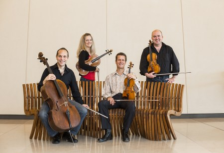 St. Lawrence String Quartet performs Monday and Tuesday at Portland State University. Photo: Eric Cheng.