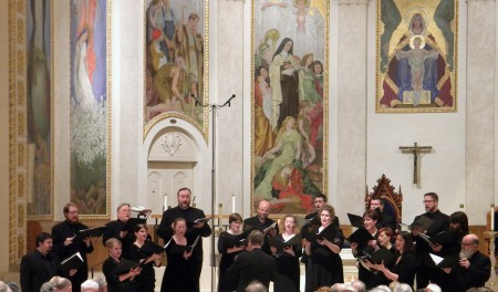 Portland choir Cappella Romana sang Finnish Orthodox music at St. Mary's Cathedral.