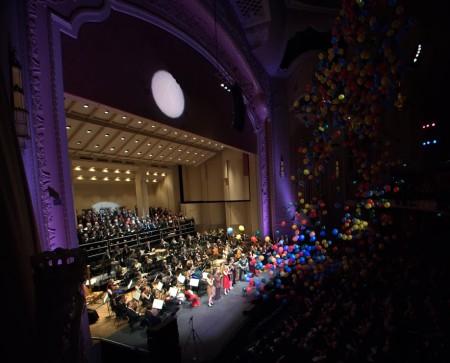 The Oregon Symphony's Ode to Joy concert. Photo: Joe Cantrell.