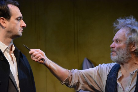 Allen Nause and Jacob Coleman in 'The Caretaker'/Photo Jerry Mouawad