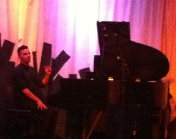 """Jedadiah Bernards performed at March Music Moderne's """"The Marriage of True Minds"""" concert at Holocene."""