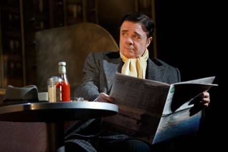 "Nathan Lane: Ketchup and laughter in ""The Nance."" Photo: Joan Marcus"
