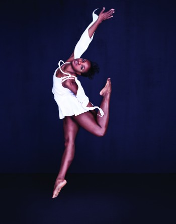 "Davalois Fearon in Stephen Petronio's ""Like Lazarus Did""/Photo by Sarah Silver"