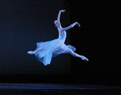 """Roper in Balanchine's """"Seranade,"""" 2004. Photo: Blaine Truitt Covert"""