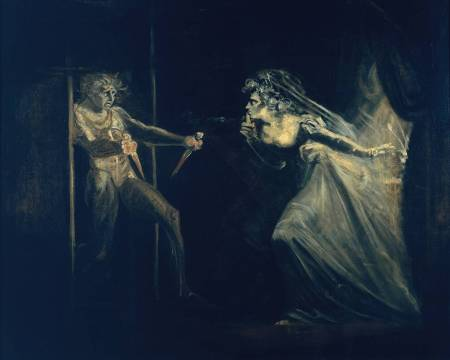 "Henry Fuseli, ""Lady Macbeth Seizing the Daggers,"" c. 1812, oil on canvas, 50 x 40 inches, Tate Britain, London"