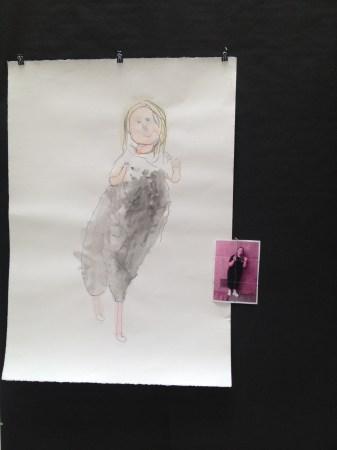 Self portrait by PHAME artist Mary McFarland